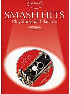 Guest Spot: Smash Hits Playalong For Clarinet (2004 Edition) Books and CDs | Clarinet
