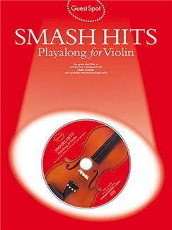 Guest Spot: Smash Hits Playalong For Violin (2004 Edition) Books and CDs | Violin