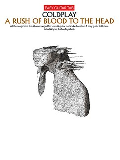 Coldplay: A Rush Of Blood To The Head (Easy Guitar Tab) Books | Guitar Tab (with Chord Symbols)