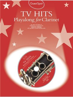 Guest Spot: TV Hits Playalong For Clarinet Books and CDs | Clarinet
