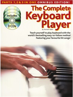 The Complete Keyboard Player: Omnibus Edition (Revised Edition) Books and CDs | Keyboard