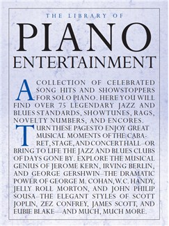 The Library Of Piano Entertainment Livre | Piano