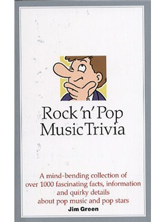 Rock 'N' Pop Music Trivia Books |