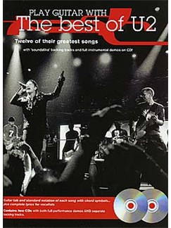 Play Guitar With... The Best Of U2 Books and CDs | Guitar Tab (with Chord Boxes)