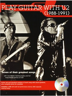 Play Guitar With... U2 - 1988 To 1991 Books and CDs | Guitar Tab
