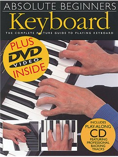 Absolute Beginners Keyboard Books, CDs and DVDs / Videos | Keyboard