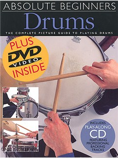 Absolute Beginners Drums Books, CDs and DVDs / Videos | Drums