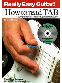 Really Easy Guitar! How To Read TAB Books and CDs | Guitar Tab