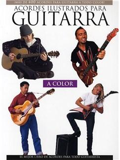 Acordes Ilustrados Para Guitarra A Color Libro | Guitarra