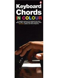 Keyboard Chords In Colour Books | Keyboard