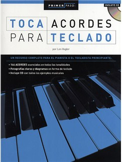 Primer Paso: Toca Acordes Para Teclado Books and CDs | Piano, Keyboard