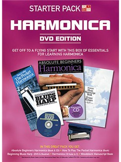 In A Box Starter Pack: Harmonica (DVD Edition) Books, CDs, DVDs / Videos and Instruments | Harmonica