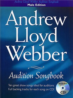 Andrew Lloyd Webber Audition Songbook (Male Edition) Books and CDs | Piano, Vocal & Guitar