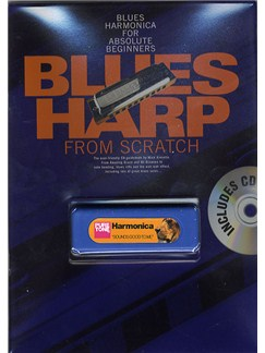 Blues Harp From Scratch Books, CDs and Instruments | Harmonica