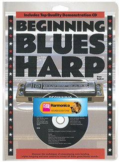 Beginning Blues Harp (Book/CD/Harmonica) Books, CDs and Instruments | Harmonica