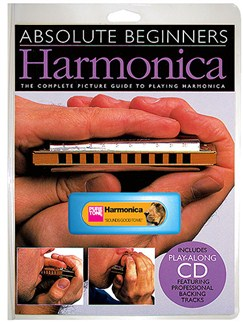 Absolute Beginners: Harmonica - Instrument Pack Books, CDs and Instruments | Harmonica