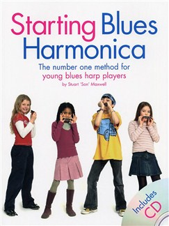 Starting Blues Harmonica Books and CDs | Harmonica