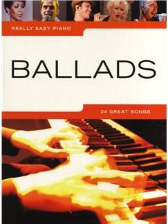 Really Easy Piano: Ballads Books | Piano
