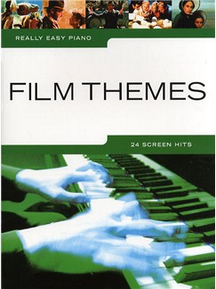 Really Easy Piano: Film Themes Books | Piano, Easy Piano