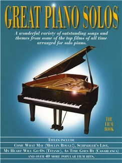Great Piano Solos - The Film Book Books | Piano
