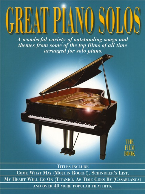 Great piano solos the film book piano sheet music sheet music great piano solos the film book books piano fandeluxe Images