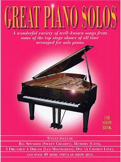 Great Piano Solos - The Show Book Books | Piano