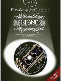Guest Spot: Playalong Keane 'Hopes And Fears' For Clarinet CD et Livre | Clarinette