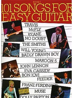 101 Songs For Easy Guitar: Book 5 Livre | Guitare