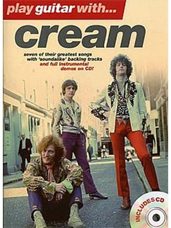 Play Guitar With... Cream Books | Guitar