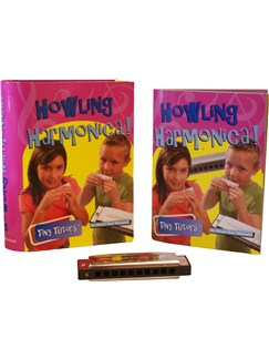 Tiny Tutors: Howling Harmonica Books and Instruments | Harmonica