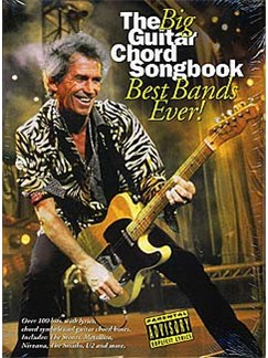 The Big Guitar Chord Songbook: Best Bands Ever! Books | Lyrics & Chords (with Chord Boxes)