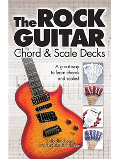 The Rock Guitar Chord And Scale Decks Books | Guitar