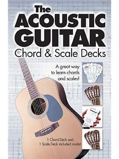 The Acoustic Guitar Chord & Scale Decks Books | Guitar