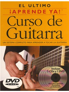 Aprende Ya! Curso de Guitarra CD, DVDs / Videos y Libro | Guitarra