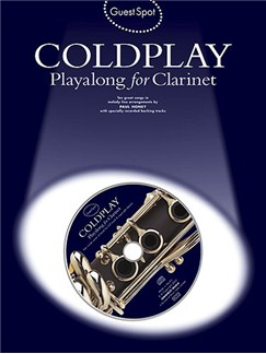 Guest Spot: Coldplay Playalong For Clarinet Books and CDs | Clarinet