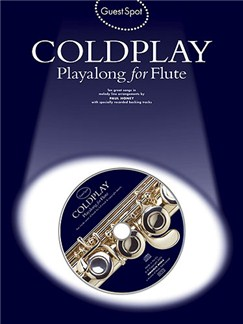 Guest Spot: Coldplay Playalong For Flute Books and CDs | Flute