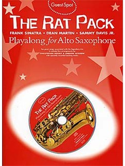 Guest Spot: Rat Pack Playalong For Alto Saxophone Books and CDs | Alto Saxophone