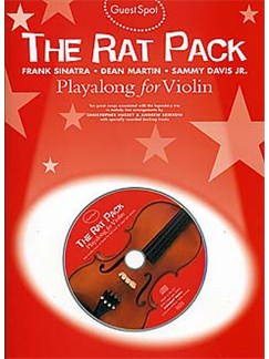 Guest Spot: Rat Pack Playalong For Violin Books and CDs | Violin