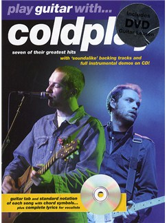 Play Guitar With... Coldplay (DVD edition) Books, CDs and DVDs / Videos | Guitar