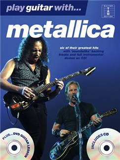 Play Guitar With... Metallica (DVD Edition) Books, CDs and DVDs / Videos | Guitar Tab