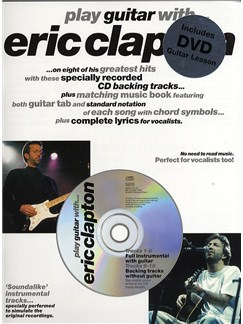 Play Guitar With... Eric Clapton (DVD Edition) Books, CDs and DVDs / Videos | Guitar Tab