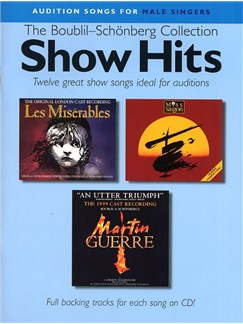 Audition Songs For Male Singers: Show Hits - The Boublil-Schönberg Collection Books and CDs | Piano, Vocal & Guitar (with Chord Symbols)