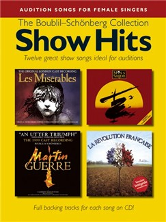 Show Hits - The Boublil-Schönberg Collection Books and CDs | Piano, Vocal & Guitar (with Chord Symbols)
