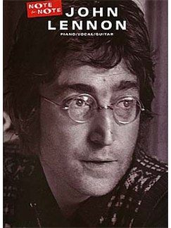 John Lennon: Note For Note Books | Piano, Vocal & Guitar (with Chord Boxes)
