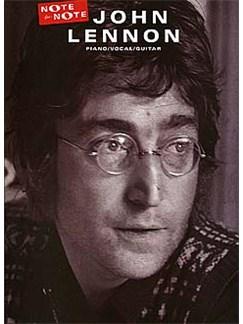 John Lennon: Note For Note Livre | Piano, Chant et Guitare (Boîtes d'Accord)