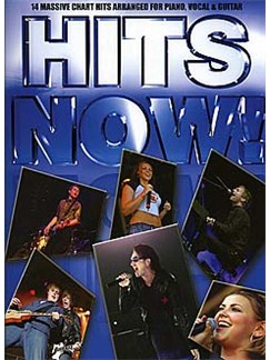 Hits Now! - The Blue Book Books | Piano, Vocal & Guitar (with Chord Boxes)
