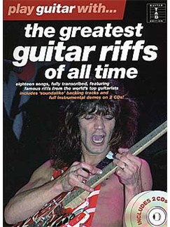 Play Guitar With... The Greatest Guitar Riffs Of All Time CD et Livre | Tablature Guitare