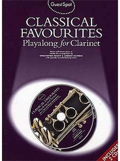 Guest Spot: Classical Favourites Playalong For Clarinet Books and CDs | Clarinet
