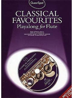 Guest Spot: Classical Favourites Playalong For Flute CD et Livre | Flûte Traversière