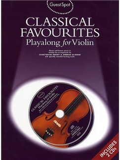 Guest Spot: Classical Favourites Playalong For Violin CD et Livre | Violon